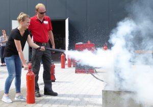 Brandschutzhelfer Schulung